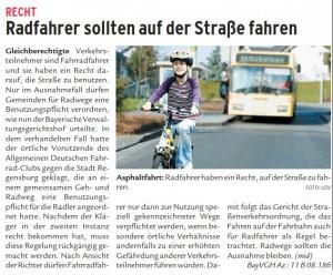 NW_2010.05.15.: Radfahrer sollten auf der Straße fahren