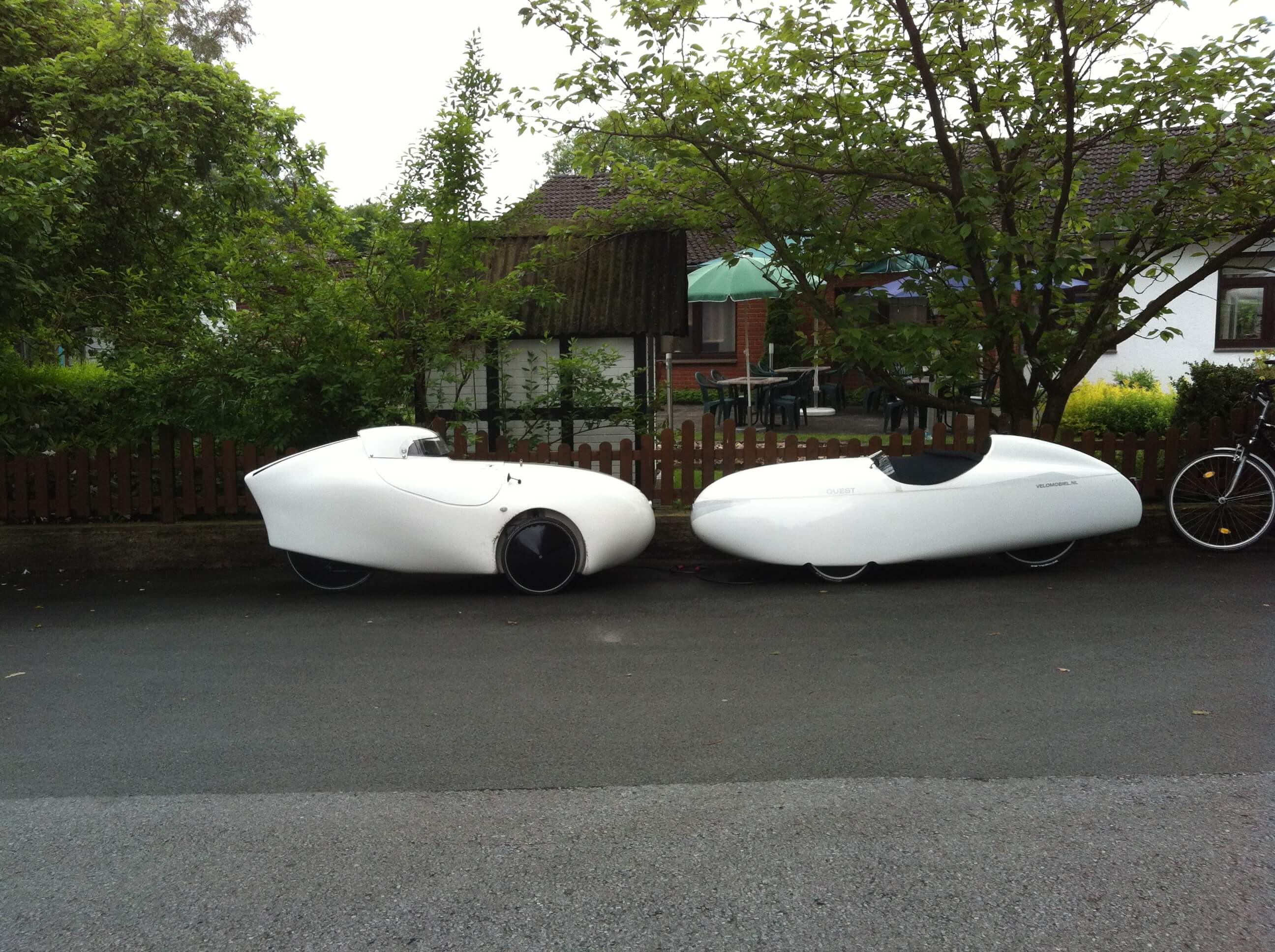 velomobile wenn radfahrer unter die haube kommen paderlieger liegerad velomobil trike in. Black Bedroom Furniture Sets. Home Design Ideas